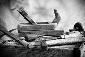 Vecchi strumenti — Foto Stock