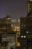 New York by night — Stock Photo