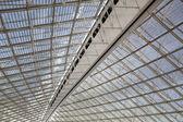 Huge, modern, industrial roof — Stock Photo
