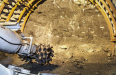 Coal mine excavator — Stock Photo