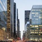 New York City from Street Level — Stock Photo