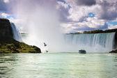 尼亚加拉大瀑布加拿大美国 — 图库照片