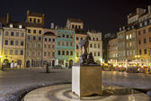 Warsaw - Old town square — Stock Photo
