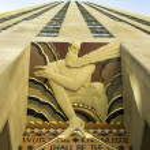 Rockefeller center di New York — Foto Stock