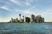 Manhattan - world's financial center — Stock Photo