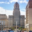 Buffalo City Hall and its surrounding. — Stock Photo