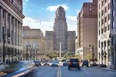 Buffalo City Hall and its surrounding. — Stock Photo