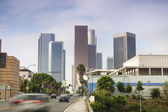 Financial District in Los Angeles, CA — Stock Photo