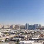 Skyline of Las Vegas — Stock Photo