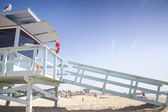 Lifeguard Station,Venice Beach, Los Angeles, USA — Stock Photo