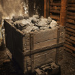 Coal mine cart - Stock Photo