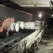 Coal mine excavator — Stock Photo