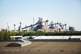 View of Steel Mill Factory — Stock Photo