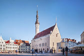 Centre of Capital City of Estonia, Tallin — Stock Photo