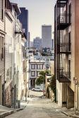 Step Street in San Francisco — Stock Photo
