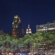 Bryant Park, Manhattan, New York - Stock Photo