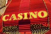 Casino Sign — Stock Photo