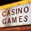 Casino Games Sign — Stock Photo #29794259
