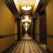 Long Art Deco Corridor — Stock Photo