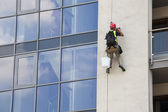 Working at height — Stock Photo