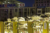 Supermarket's roof collapsed in Riga, Latvia, Europe — Stock Photo