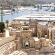 Roman Amphitheater in Cartagena, Murcia, Spain — Foto de Stock