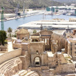 Roman Amphitheater in Cartagena, Murcia, Spain — Stock fotografie