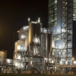Stock Photo: Power plant by night