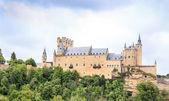 Prachtige gebouwen van segovia, Spanje — Stockfoto