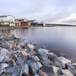 Стоковое фото: Luxury houses by the lake