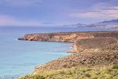 Beautiful landscape of sea and land — Stock Photo