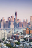 Financial Centre of Manhattan, New York — Stock Photo