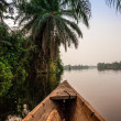 Canoe ride in Africa — Stock Photo #42005697