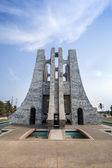 Nkrumah Memorial Park, Accra, Ghana — Stock Photo