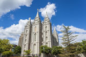 The Church of Jesus Christ of Latter-day Saints' Temple — 图库照片
