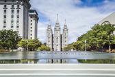 Templo da Igreja de jesus Cristo dos Santos — Fotografia Stock