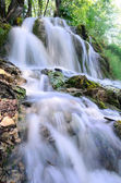 Waterfall at the Plitvice Lakes National Park — Stock Photo