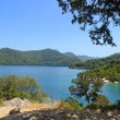 Big lake in National park, Mljet — Stock Photo
