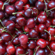 Sweet cherries background — Stock Photo