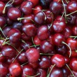 Stock Photo: Sweet cherries background