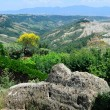 Stock Photo: View of badlands in Civita, Lazio, Italy