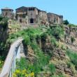 Italian Hilltown Civita, Lazio, Italy — Stock Photo