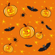 Halloween background — Vector de stock #12346184