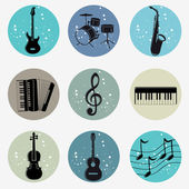 Musical — Stock Vector