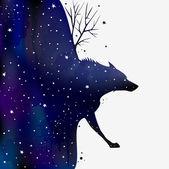 Злой волк вектор - 5