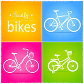 Bikes — Stock Vector