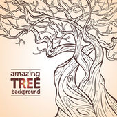 Tree amazing — Stock Vector