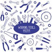 Working tools — Stock Vector