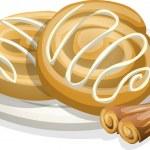 Cinnamon rolls — Stock Vector #36992279
