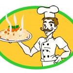 Italian chef — Stock Photo #8054915